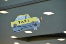 Fliegendes Taxi